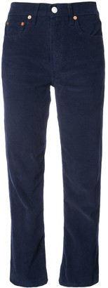 RE/DONE Corduroy High Waisted Trousers