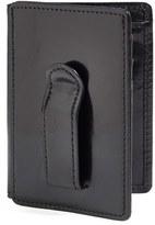 Bosca Men's 'Old Leather' Front Pocket Id Wallet - Black