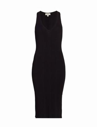 L'Agence Josephine V-Neck Knit Dress
