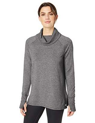 Amazon Essentials Studio Terry Long-sleeve Funnel-neck Tunic Shirt,US XXL (EU 3XL-4XL)