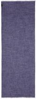Drake ' S Fringed wool-cashmere scarf
