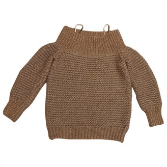 Fabiana Filippi Gold Cashmere Knitwear for Women