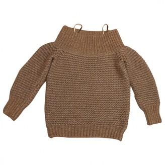 Fabiana Filippi Gold Cashmere Knitwear