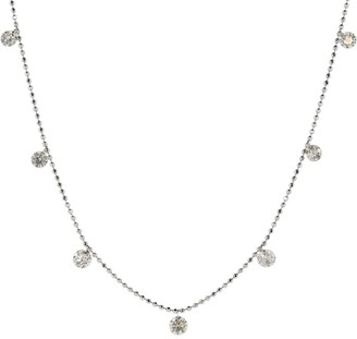Graziela Medium Floating Diamond Necklace