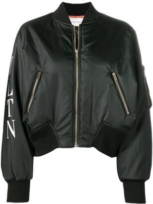 Valentino cropped bomber jacket