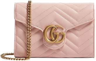 Gucci Mini Marmont Matelasse Shoulder Bag