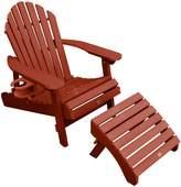 Adirondack Highwood highwood Hamilton Folding & Reclining Chair with Laptop/Reading Table