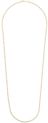 Carolina Bucci 18kt yellow and white gold Long Disco Ball necklace