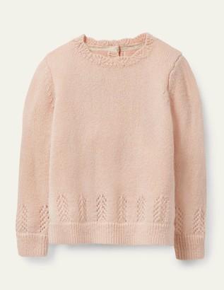 Boden Pointelle Sweater