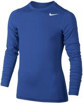 Nike Boys 8-20 Base Layer Top