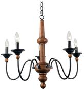 Kenroy Home Valerie 5-Light Chandelier