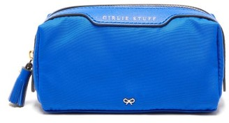 Anya Hindmarch Girlie Stuff Make-up Bag - Blue