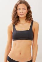 Becca Black Magic Square Bikini Top Black S