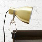 CB2 Clip Brass Light
