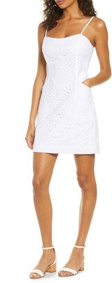 Lilly Pulitzer Shelli Cotton Eyelet Sheath Sundress