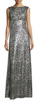 Donna Morgan Evie Beaded Column Gown