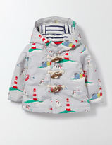 Boden Boys Printed Duffle Jacket