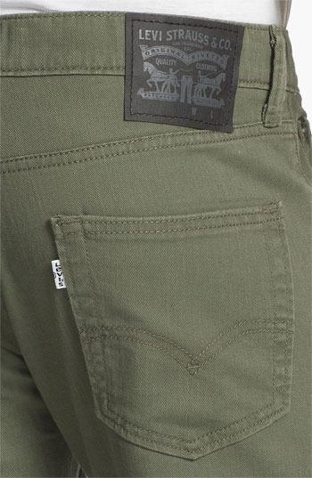 Levi's '511TM' Skinny Leg Twill Pants