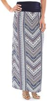 Women's AB Studio Print Maxi Skirt