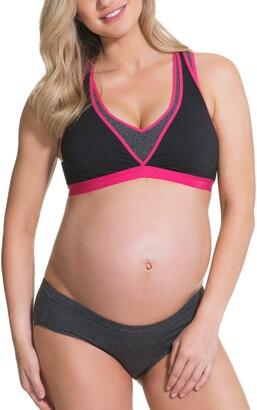 Angel Maternity Lotus Yoga Pumping Nursing Bra