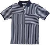 Nautica Little Boys' Mixed Media Stripe Polo Shirt (2T-7)