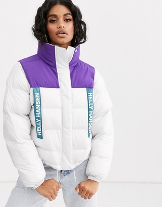 Helly Hansen P&C puffer jacket in white