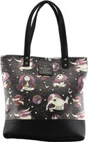 Loungefly Nightmare Before Christmas Tattoo Print Tote Bag