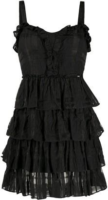 Liu Jo Tiered Cocktail Dress