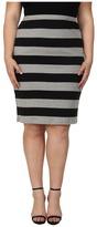 BB Dakota Plus Size Odele Skirt