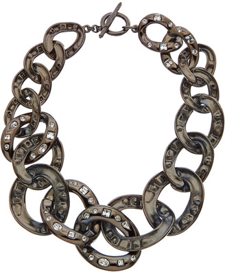 Kenneth Jay Lane Plated Necklace