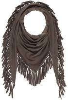 Bling It Around Again Fringe Scarf