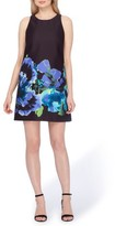 Tahari Women's Floral Trapeze Dress