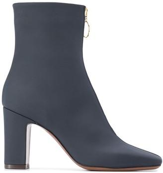 L'Autre Chose Front-Zip Boots