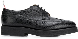 Thom Browne Chunky-Sole Pebbled 30mm Brogues