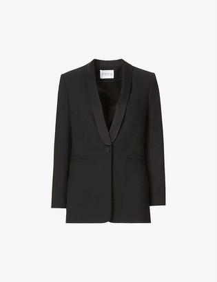 Claudie Pierlot Slim-fit single-breasted twill blazer