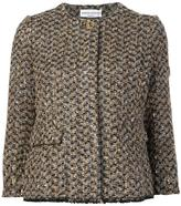 Sonia Rykiel three-quarters sleeve jacket - women - Mohair/Wool/Polyamide-8 - 38