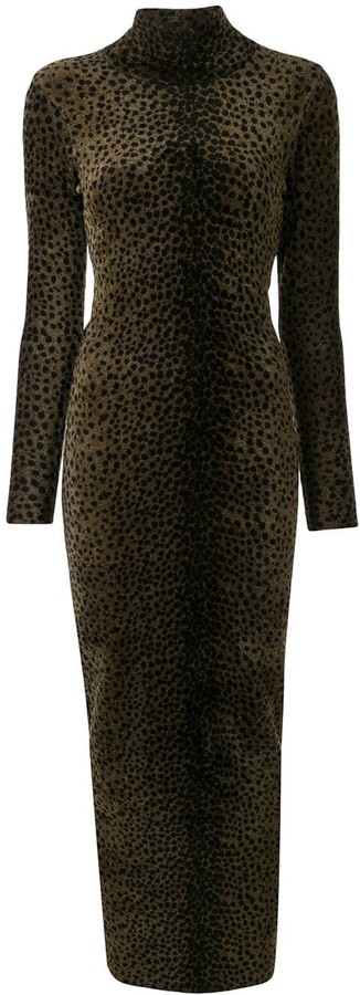 Alexander Wang Leopard Print Dress