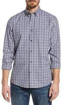 Nordstrom Trim Fit Non-Iron Check Sport Shirt