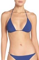 Tory Burch Women's Gemini Link String Bikini Top