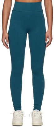 Live The Process Blue Tuxedo Leggings