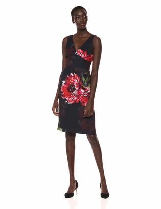 Trina Turk Trina Women's Fresca V Neck Shift Dress