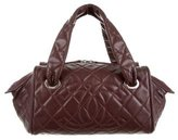 Chanel Quilted Caviar Timeless Bowler Bag