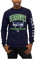 Junk Food Clothing Men's Seattle Seahawks Nickel Formation Long Sleeve T-Shirt