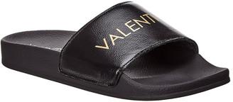 Valentino By Mario Valentino Miranda Leather Slide