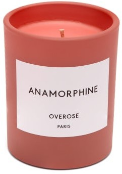 Overose Anamorphine Scented Candle - Pink