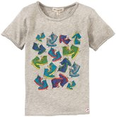 Appaman Sneakers Print Tee (Toddler/Kid) - Heather-7