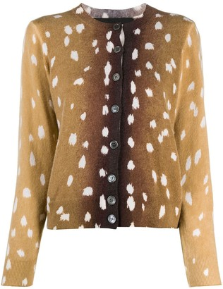 Marc Jacobs Button-Up Knitted Jumper