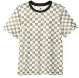Tea Collection Braulio Checkered Tee (Big Boys)