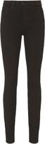 L'Agence Marguerite High-Rise Noir Skinny Jeans