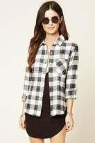 Forever 21 FOREVER 21+ Tartan Plaid Flannel Shirt